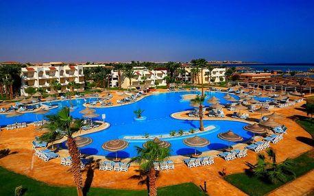 Egypt - Hurghada na 11 dní, all inclusive s dopravou letecky z Prahy přímo na pláži