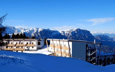 8denní Monte Bondone | Hotel Le Blanc**** 200 m od sjezdovky | 2 Děti do 7 let zdarma | Vlastní doprava, polopenze