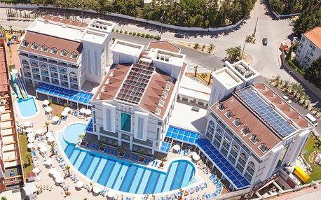 Turecko - Side na 8 až 11 dní, all inclusive s dopravou letecky z Prahy 350 m od pláže
