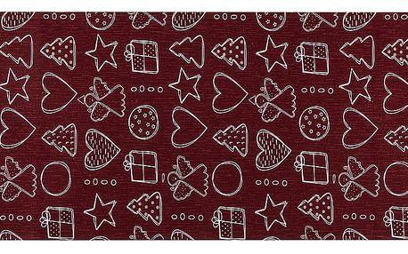 Dakls Běhoun Vánoční čas, 40 x 120 cm