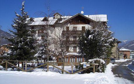 4–8denní Paganella se skipasem | Hotel Alle Rose*** | Dítě zdarma | Vlastní doprava, ubytování, polopenze a skipas