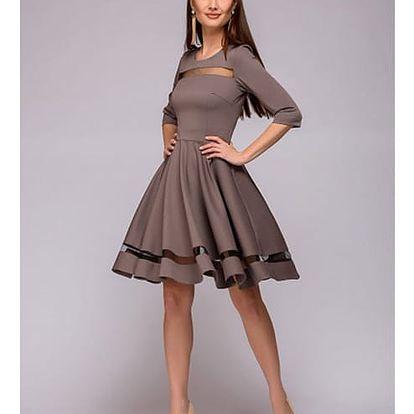 Dámské elegantní šaty Bernadea - 2 barvy