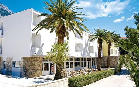 8–10denní Chorvatsko, Makarska | Hotel Palma*** 100 m od pláže | Doprava -50% | Dítě zdarma | Polopenze, autobusem nebo vlastní doprava