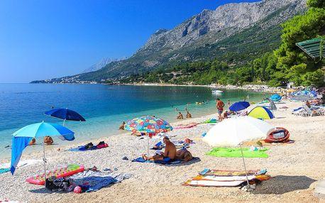 8–10denní Chorvatsko, Gradac | Hotel Oaza | Doprava -50% | Dítě zdarma | Přímo u pláže | Polopenze, autobusem nebo vlastní doprava