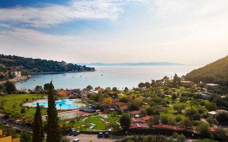 8–10denní Chorvatsko, Istrie, Rabac | Kemp Oliva*** – mobilhome | Doprava -50% | Dítě zdarma | Polopenze | Možnost dopravy
