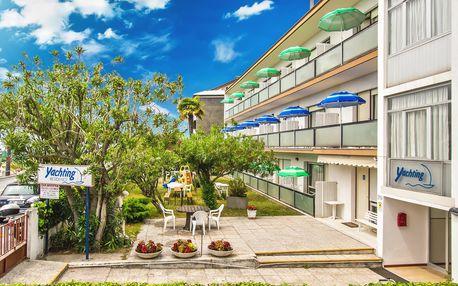 8–10denní Itálie, Lignano | Villa Yachting*** – týdenní pobyty | Doprava -50% | Dětské hřiště | Strava vlastní | Autobusem nebo vlastní doprava