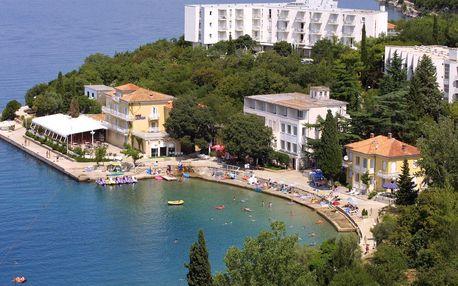 8–10denní Chorvatsko, ostrov Krk | Hotel Adriatic – Omišalj** 50 m od pláže | Doprava -50% | Polopenze, autobusem nebo vlastní doprava