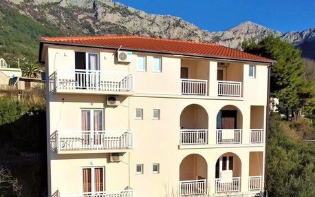 8–10denní Chorvatsko, Gradac | Apartmány Villa Tina*** | Výhled na moře | Bez stravy, autobusem nebo vlastní doprava