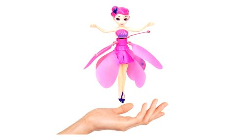 Létající panenka s čidlem