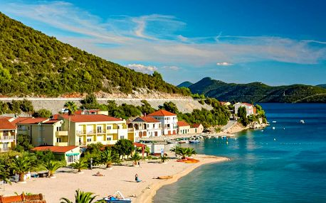 8–10denní Chorvatsko, Klek | Hotel Plaža a depandance hotelu Plaža*** přímo u pláže | Dítě zdarma | Polopenze, autobusem nebo vlastní doprava