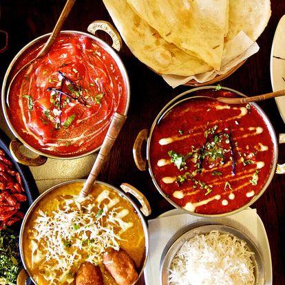 Pestré indické menu pro 2 nebo 4 osoby