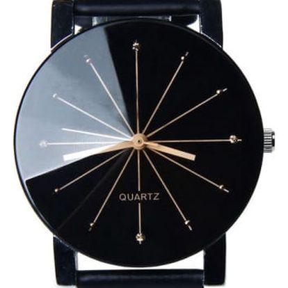 Elegantní hodinky pro muže i ženy - 2 barvy