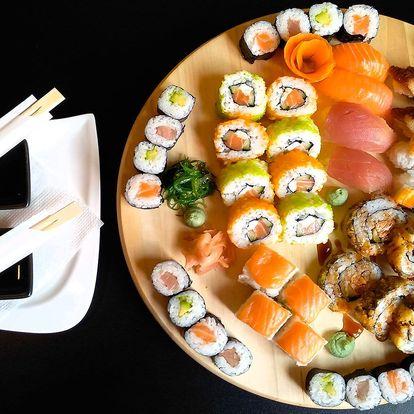 Sushi sety v OC Olympia: 20 nebo 50 kusů