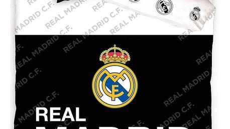 Tip Trade bavlněné povlečení Real Madrid Black Belt