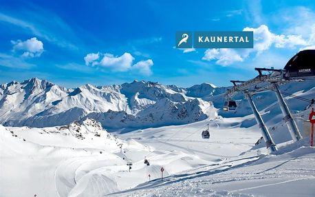 Rakousko - Tyrol na 3 dny, bez stravy s dopravou autobusem