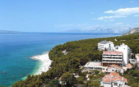 Chorvatsko - Makarská riviéra na 10 dní, polopenze s dopravou autobusem 100 m od pláže