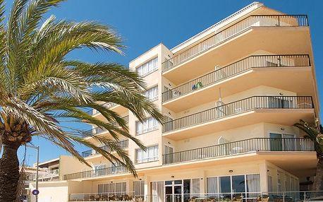 Španělsko - Mallorca na 8 až 15 dní, polopenze s dopravou letecky z Prahy 50 m od pláže