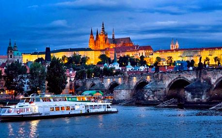 Romantická plavba po Vltavě s obědem či večeří