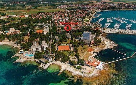Chorvatsko - Umag na 10 dní, polopenze s dopravou autobusem 100 m od pláže