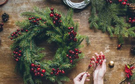 Workshop zimní a vánoční dekorace