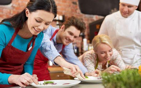 Škola vaření: originální menu od mistra v oboru