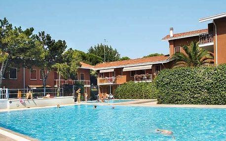 Itálie - Lignano na 8 dní, bez stravy s dopravou vlastní 950 m od pláže