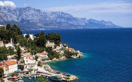 Chorvatsko - Omiš na 4 až 10 dní, bez stravy s dopravou autobusem nebo vlastní