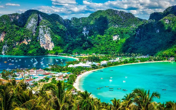 Thajsko, Phi Phi, letecky na 13 dní snídaně
