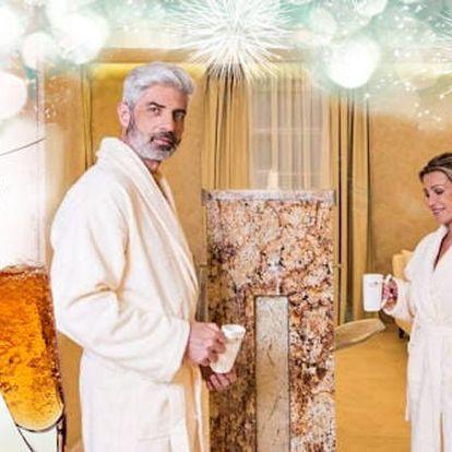 Silvestrovský wellness pobyt v Zlatých lázních - 4 noci s polopenzí, bazénem a procedurami