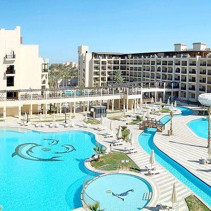 Egypt - Hurghada na 8 až 15 dní, all inclusive s dopravou letecky z Prahy 400 m od pláže