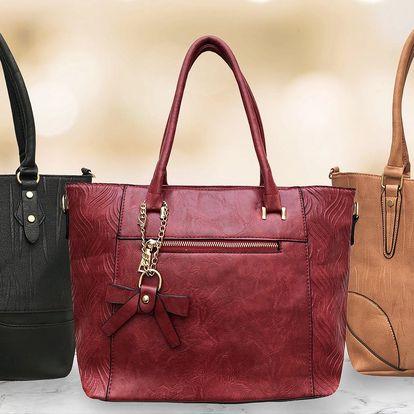 Elegantní dámské vyrážené kabelky