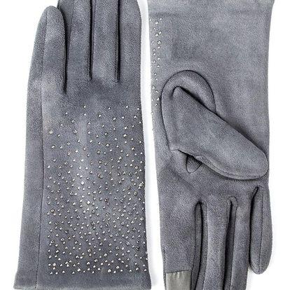 Dámské elegantní rukavice s kamínky BW024