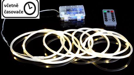 Nexos 57379 Vánoční LED osvětlení - MINI kabel - 5 m teple bílá