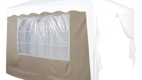 Tuin 36859 Náhradní boční stěna ke stanu s oknem - béžová