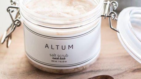IB LAURSEN Peelingová sůl ALTUM - Mars Herbs 300ml, přírodní barva, sklo