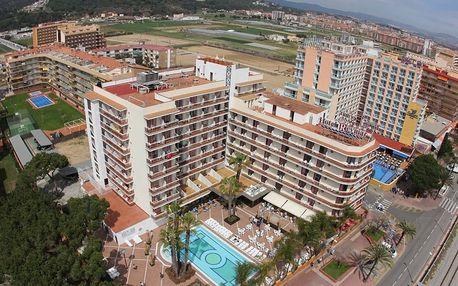 Španělsko - Costa del Maresme na 8 dní, plná penze s dopravou letecky z Prahy 50 m od pláže