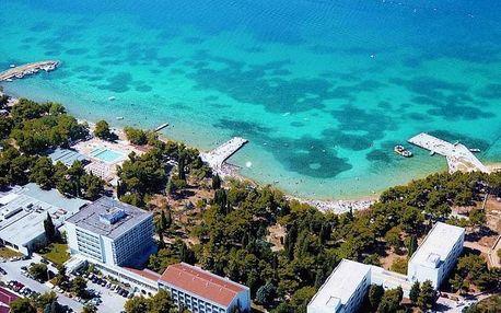 Chorvatsko - Vodice na 8 až 10 dní, light all inclusive nebo polopenze s dopravou autobusem nebo vlastní 100 m od pláže