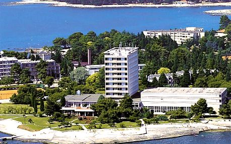 Hotel ADRIATIC, Istrie, Chorvatsko, polopenze