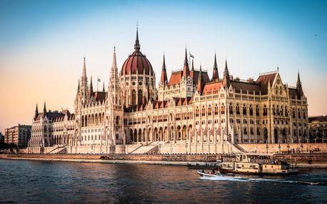 Valentýnský výlet do Budapešti pro dva | Jednodenní poznávací zájezd do Maďarska