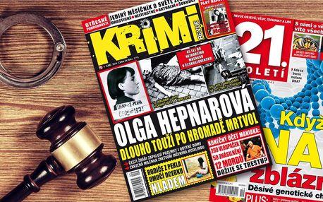 Předplatné časopisů Krimi Revue a 21. století