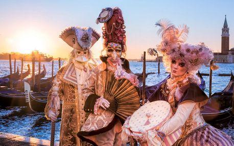 Zájazd na Benátsky karneval, zámok Miramare aj slovinský Bled