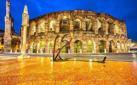 Valentýnský výlet do Verony – Shakespearovská romantika pro dva | 3denní poznávací zájezd do Itálie