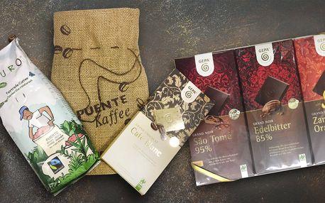 Fair trade dárky: káva, čokoláda i med a čaj