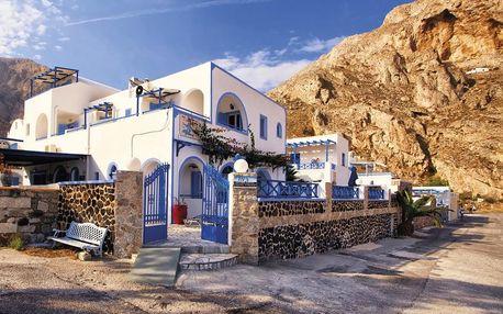 Řecko - Santorini na 15 dní, bez stravy s dopravou letecky z Prahy 300 m od pláže