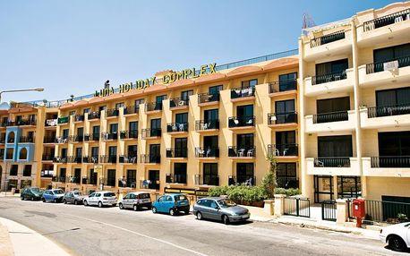 Malta - Mellieha na 8 dní, snídaně nebo bez stravy s dopravou letecky z Prahy 350 m od pláže