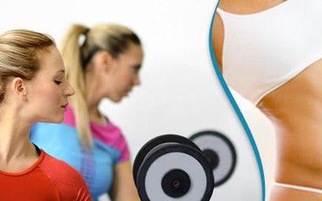10 skupinových lekcí s trenérem v dámském fitku