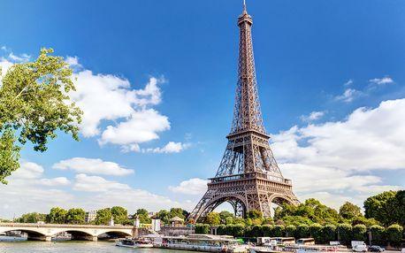 Valentýn v Paříži pro dva | 1 noc se snídaní | 4denní poznávací zájezd do Francie
