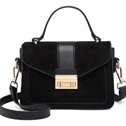Dámská černá kabelka Courtney 6872