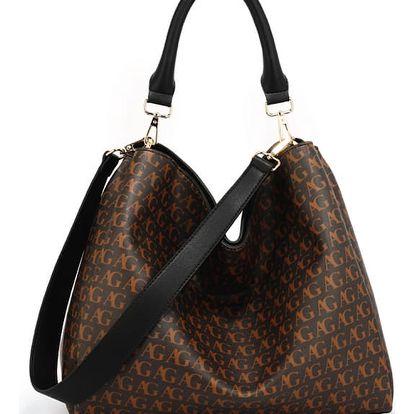 Dámská černá kabelka Pippa 573P