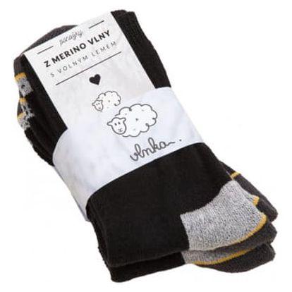Pracovní ponožky merino 2ks